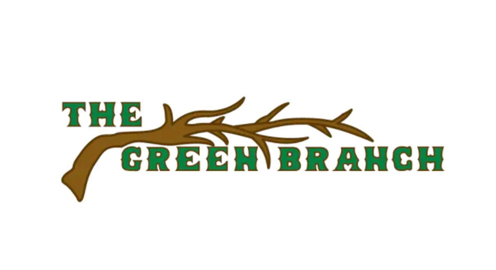 the green branch logo pub