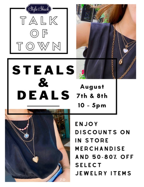 Steals and Deals Graphic