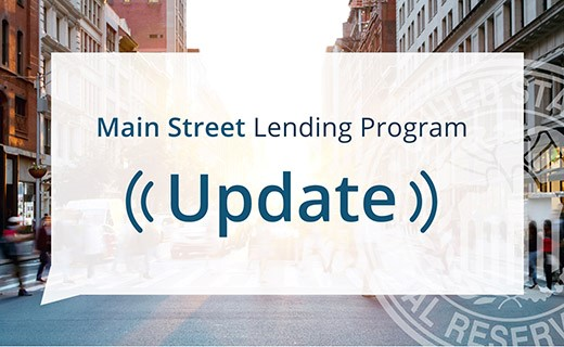 Main Street Lending Program Logo