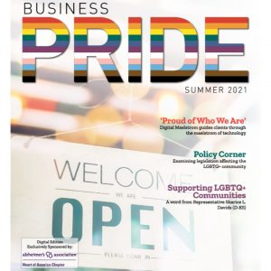 Summer Edition Cover Page of Business Pride Magazine