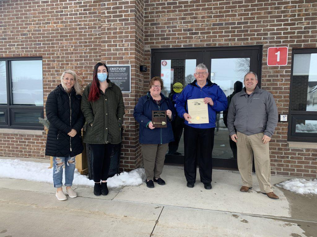 Crestview Local Schools: Golden Shovel Award