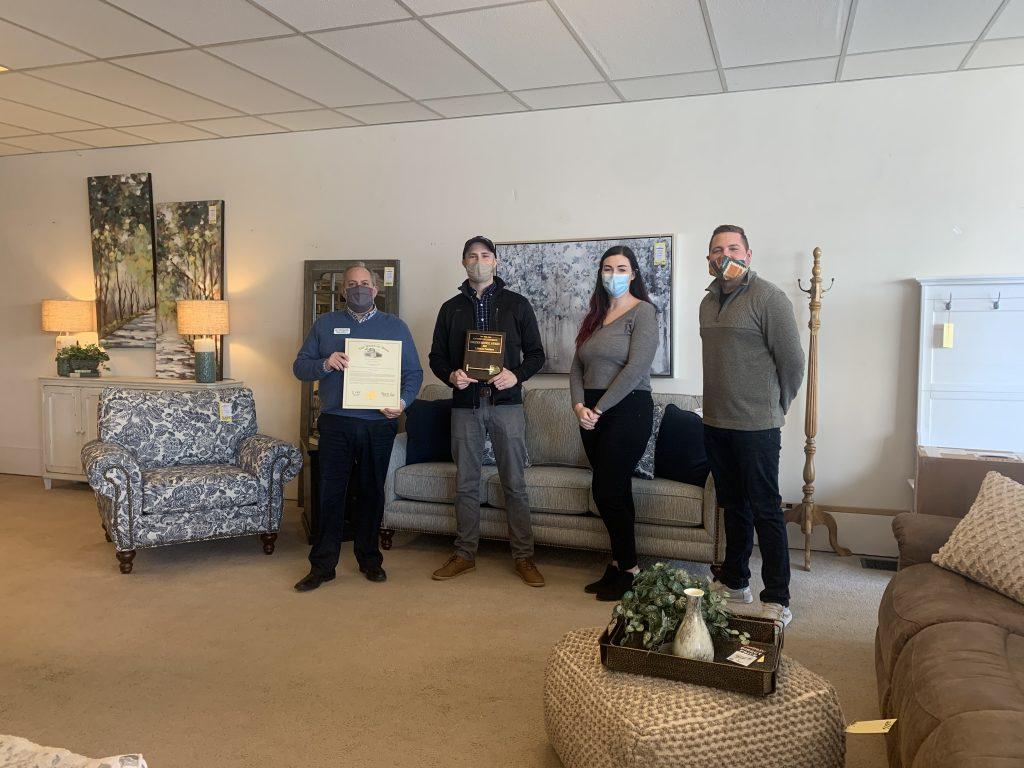 LifeStyle Furniture: Golden Shovel Award