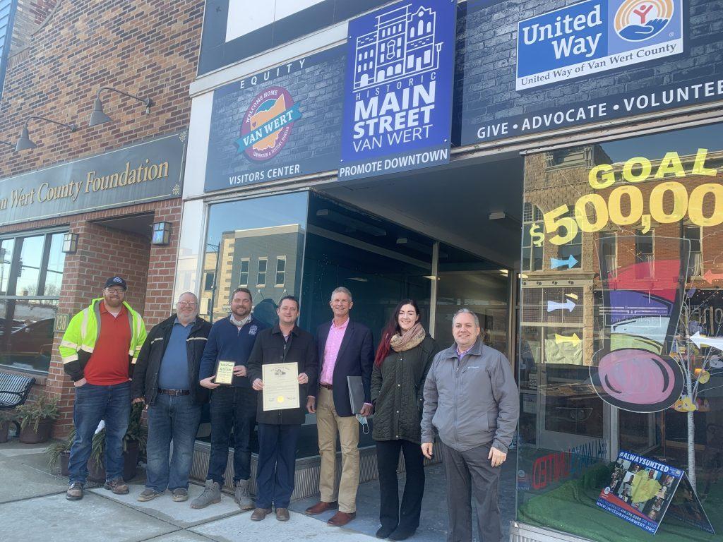 Main Street Van Wert: Charitable Non-Profit Award