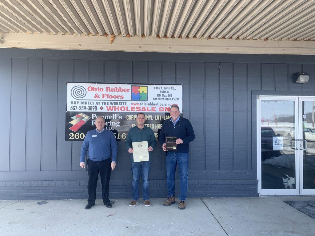 Ohio Rubber Floors: Golden Shovel Award