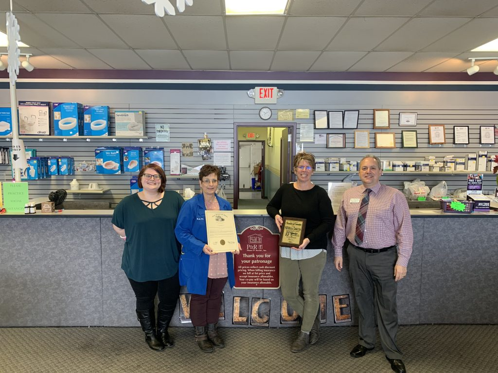 P & R Medical Connection: 35 Years Milestone Award