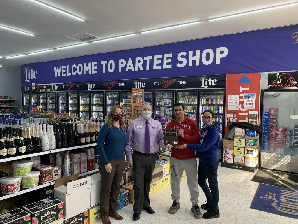 Partee Shop: Golden Shovel Award
