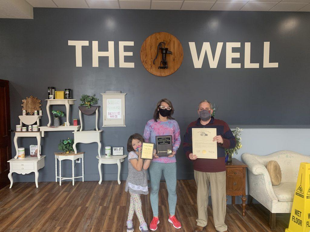 The Well: Golden Shovel Award