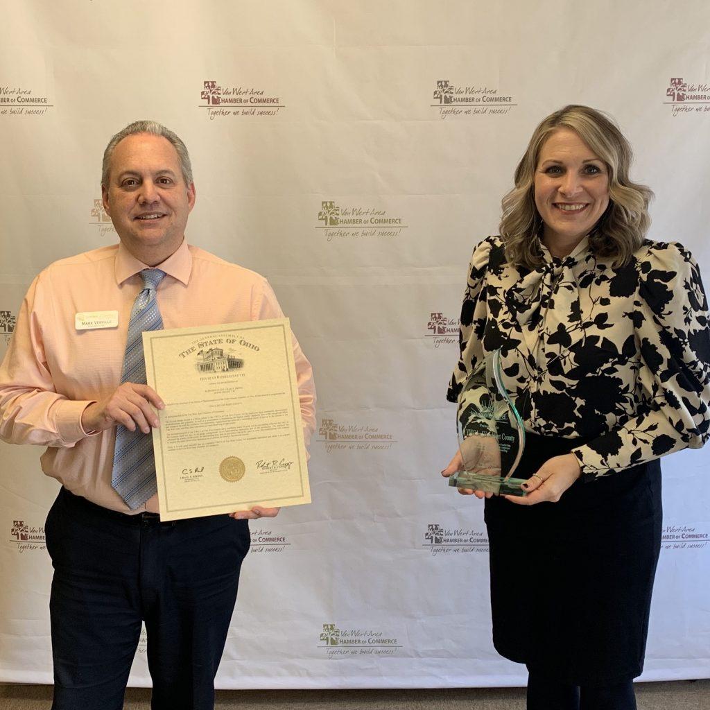 YWCA of Van Wert County: Crystal Image Award
