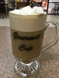 Gourmet Cup - Gingerbread House Latte