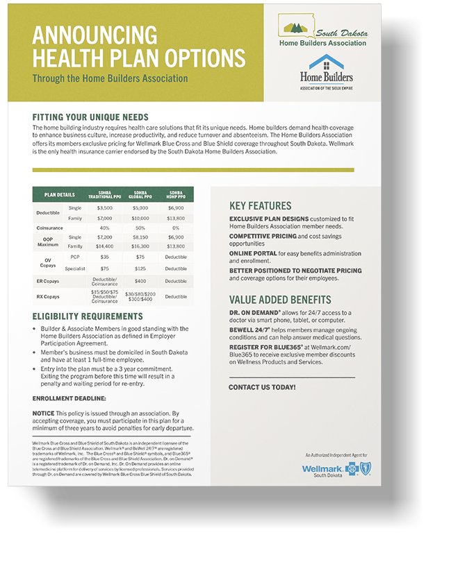 Sioux Falls Health Plan - South Dakota