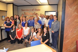 Leadership CLass with AZ Secretary of State Michele Reagan