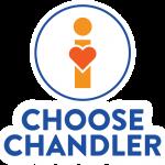 I Choose Chandler Logo - Vertical Primary Stroke Version