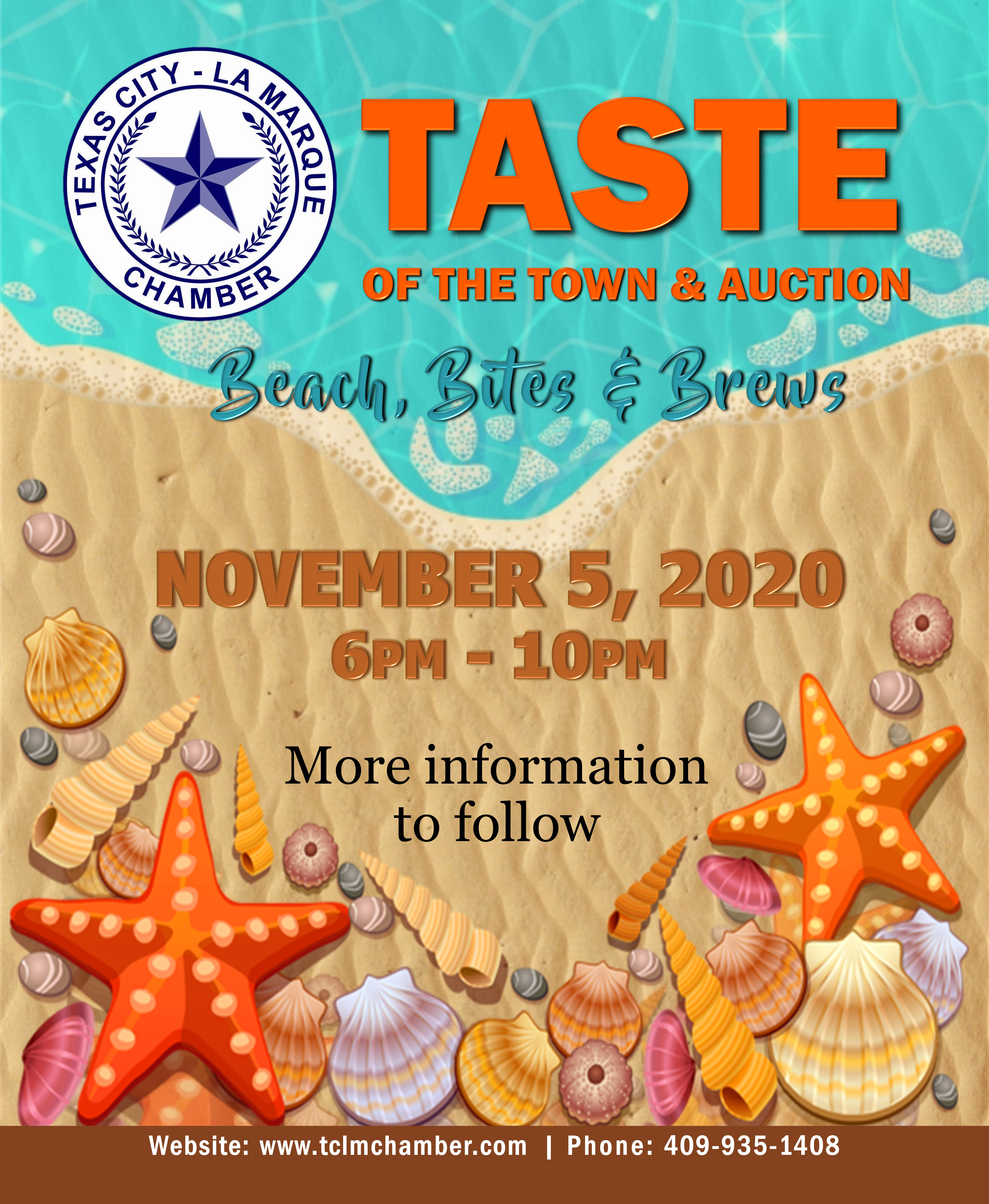 Coast Magazine Ad for Taste of the Town 2020