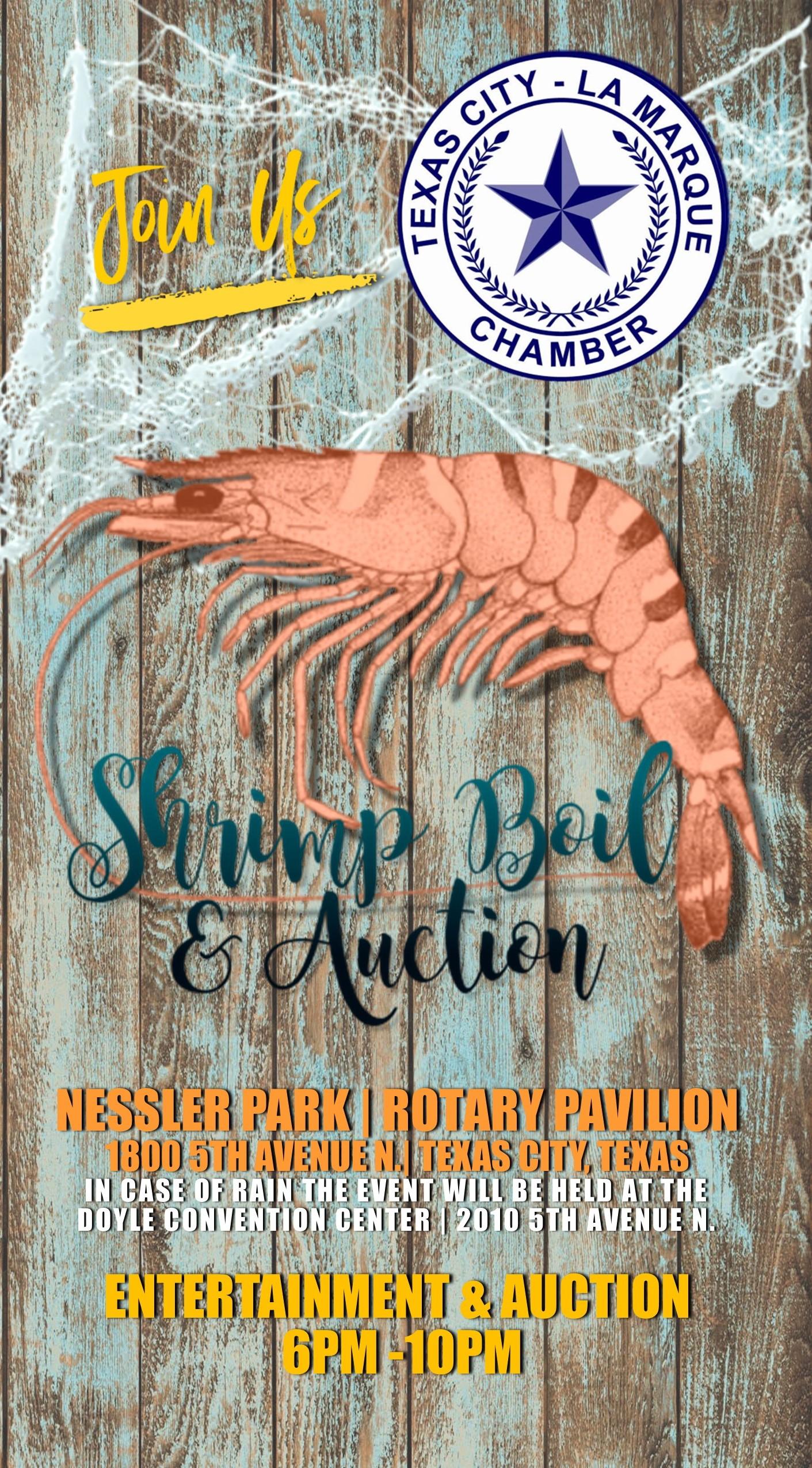 Shrimp Boil 2020 Invite cover