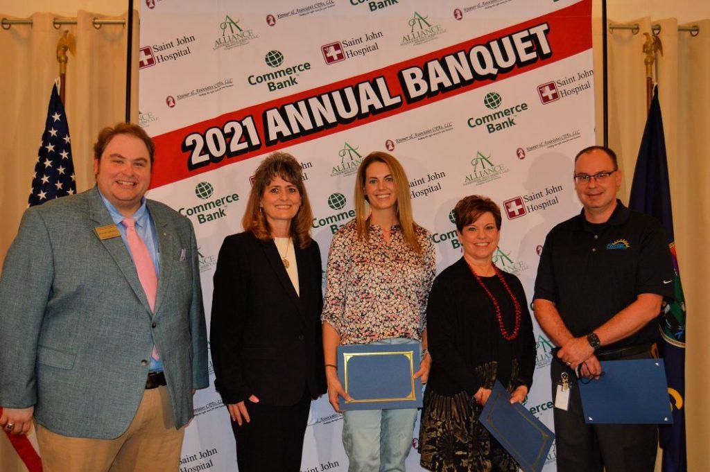 Recognizing Departing Board Members - Brynn Peter, Rosalee Robinson, & Michael Augustine
