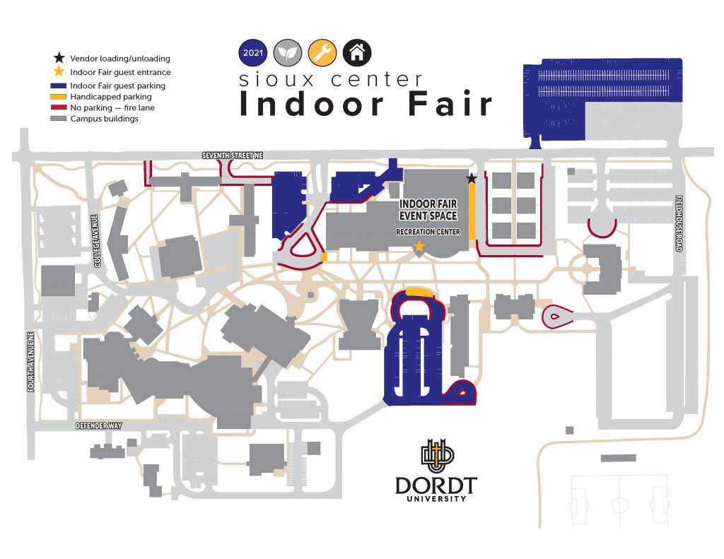 Printable Map 2021 Indoor Fair E