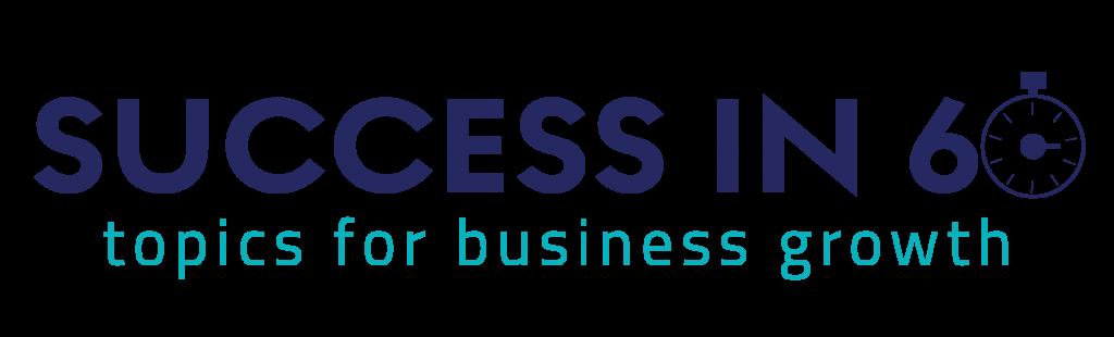 success in 60 logo