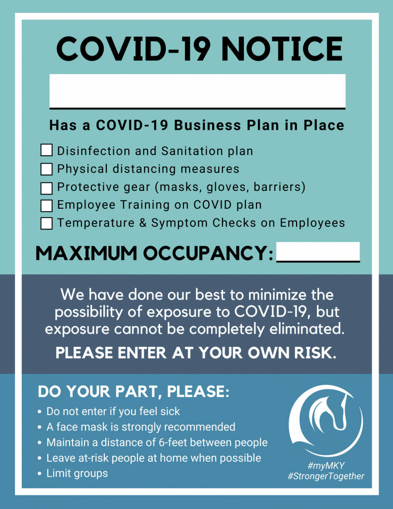 Business COVID-19 Notice