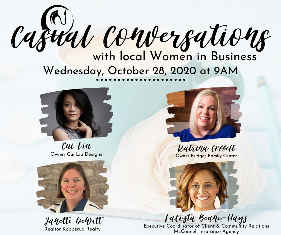 Casual Conversations Oct 28