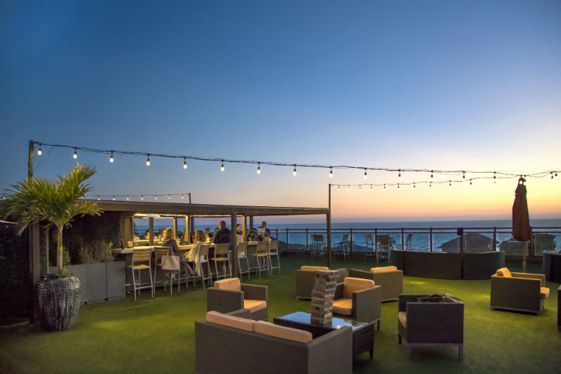 Rooftop Bar - Sunset on St