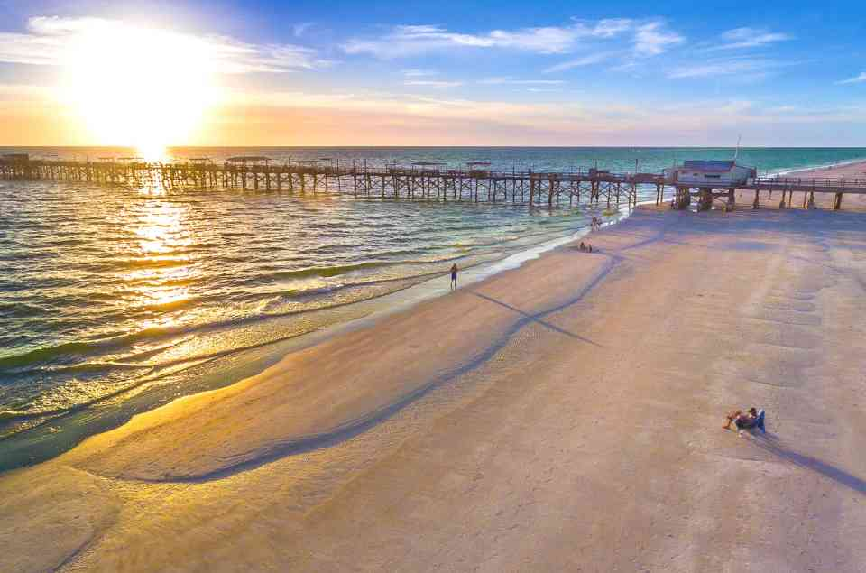 Areal Photo of Redington Shores Long Pier