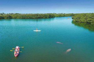 Kayak at For Desoto on Tierra Verde
