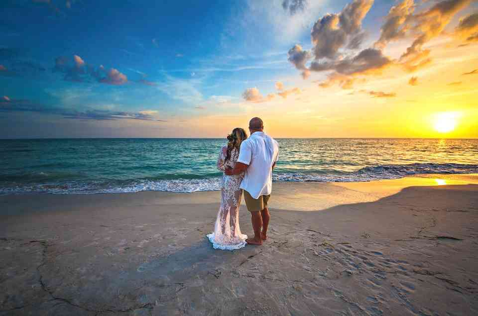 Sunset Wedding on Treasure Island - Tampa Bay Beaches