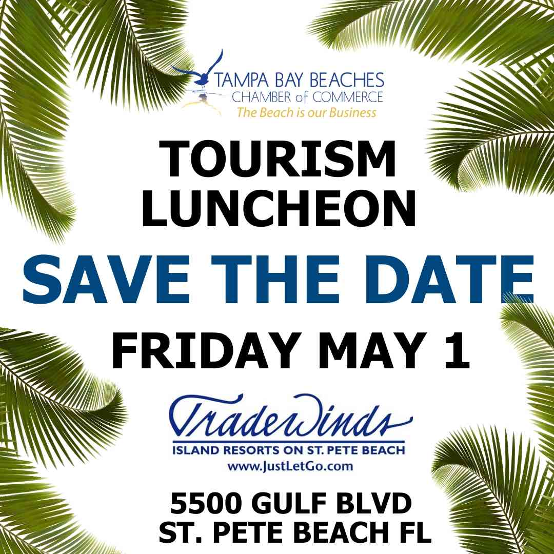 Save the Date Tourism Luncheon 2020