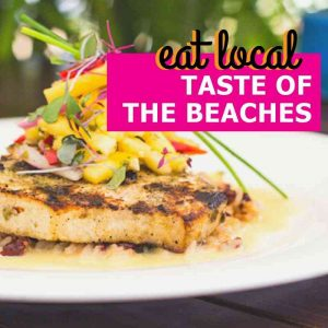 Eat Local at Taste of the Beaches - Tampa Bay Beaches