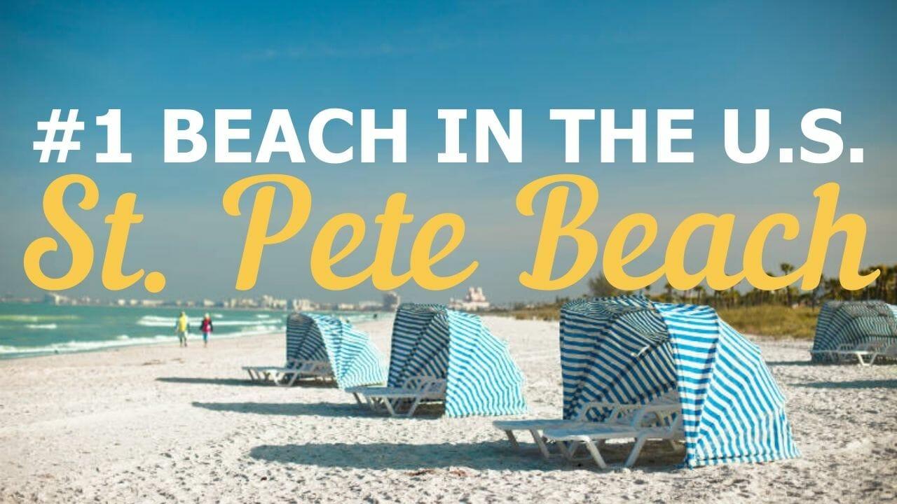 Blue Cabanas on St. Pete Beach - #1 Beach in the U.S.