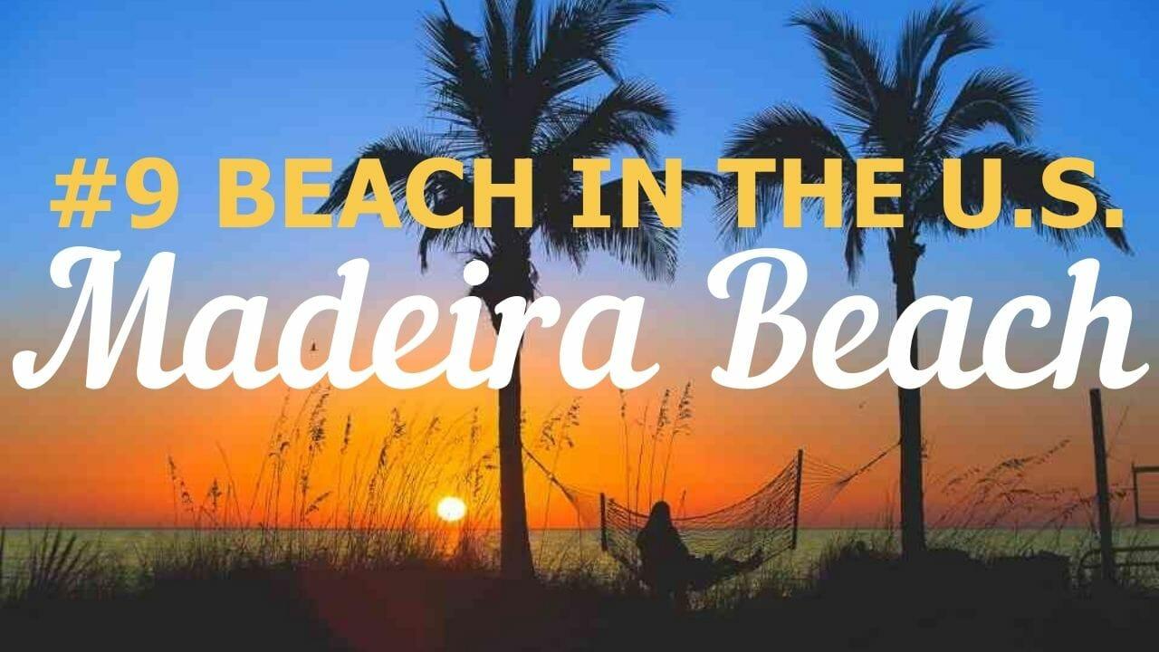 Sunset on the #9 Beach in the U.S. Madeira Beach