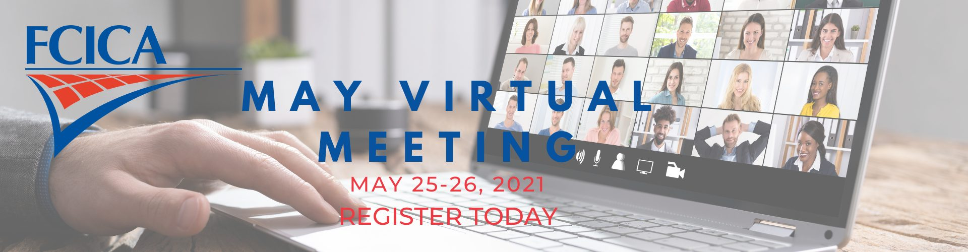 FCICA May Virtual Meeting 2021 Web Banner