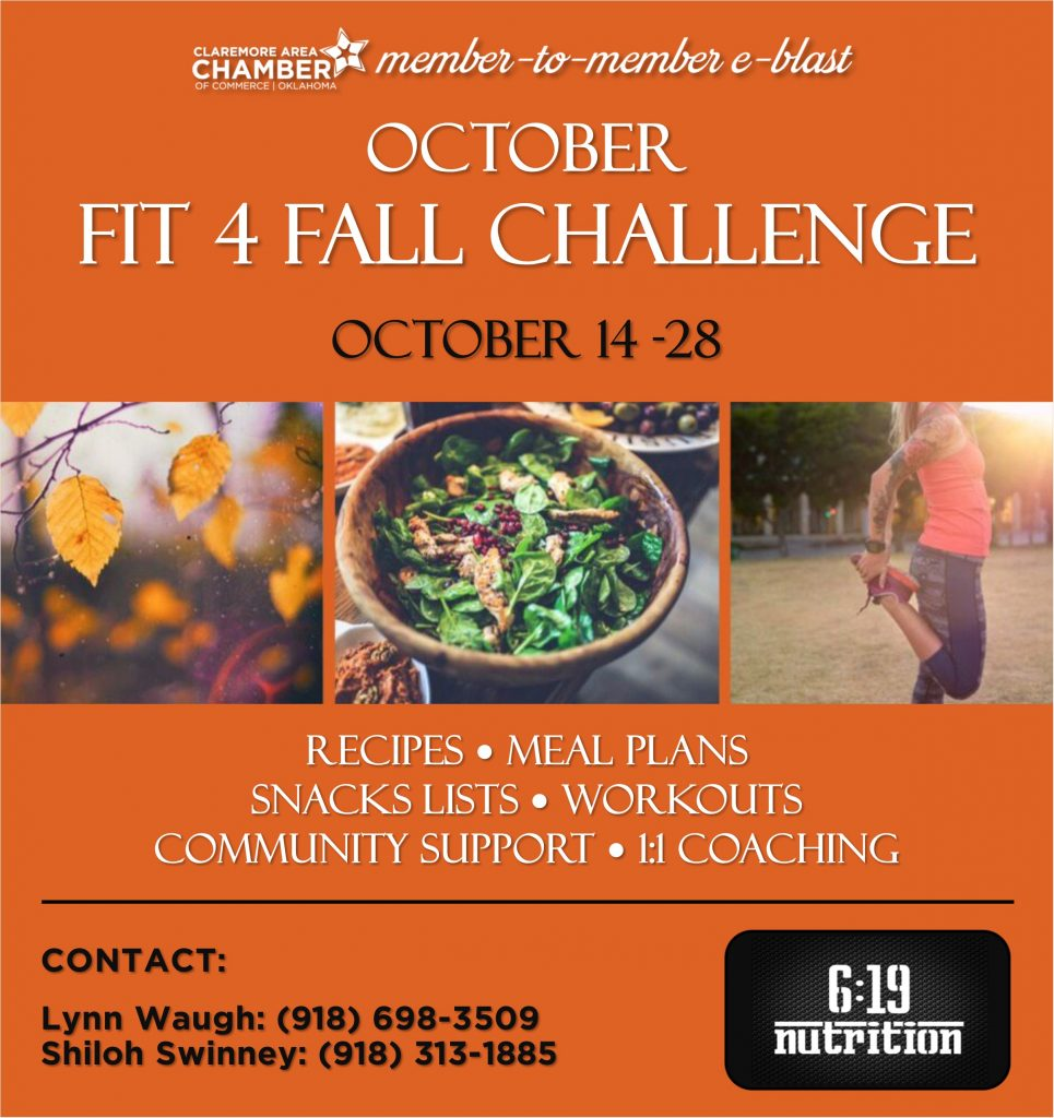619 Nutrition - Fit 4 Fall