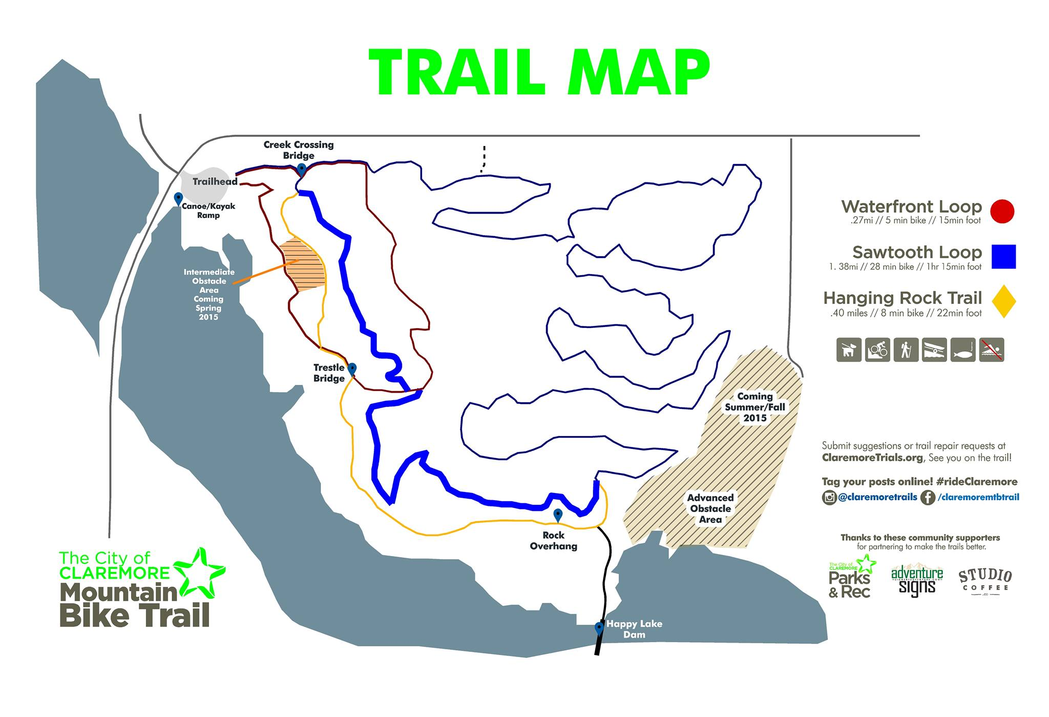 Mountain Bike Trail (Map)