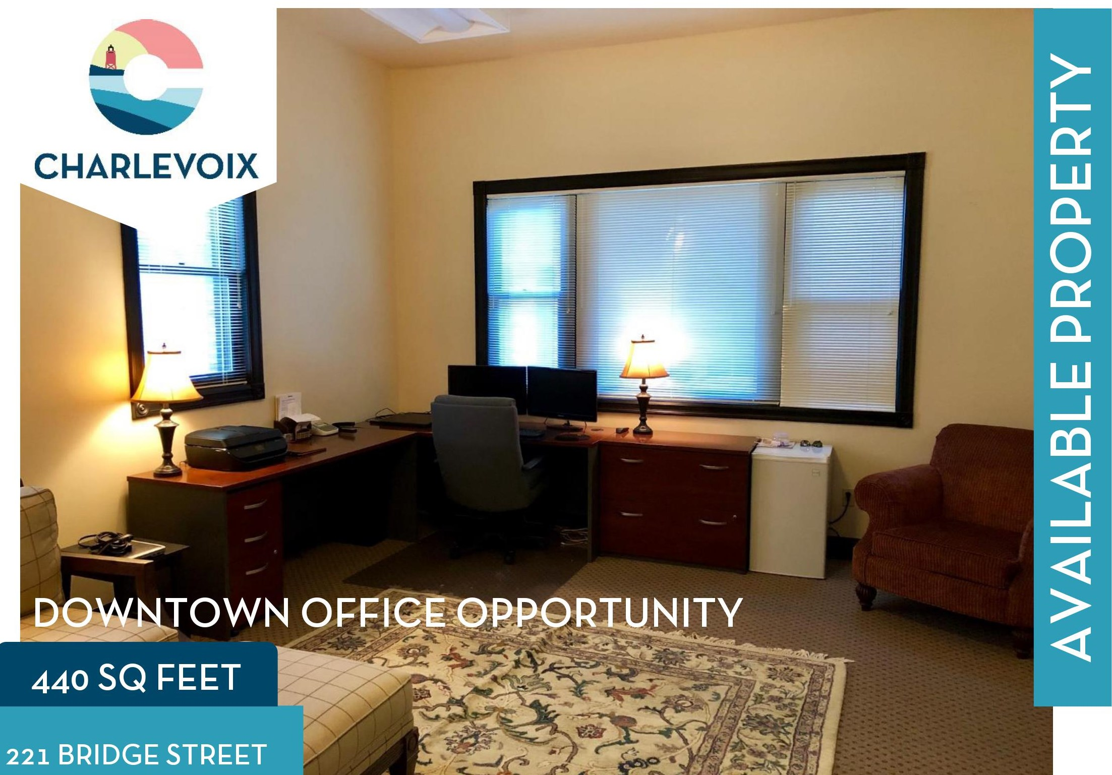Downtown Commercial Property Lease Available Charlevoix