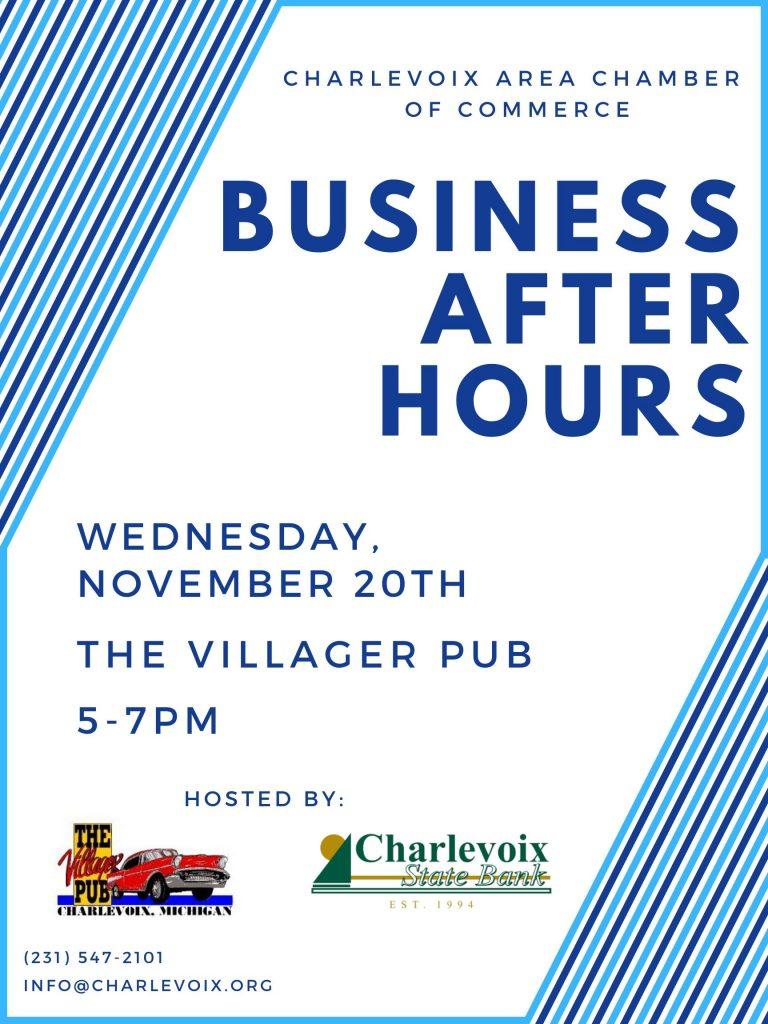Business After Hours Villager Pub Charlevoix State Bank