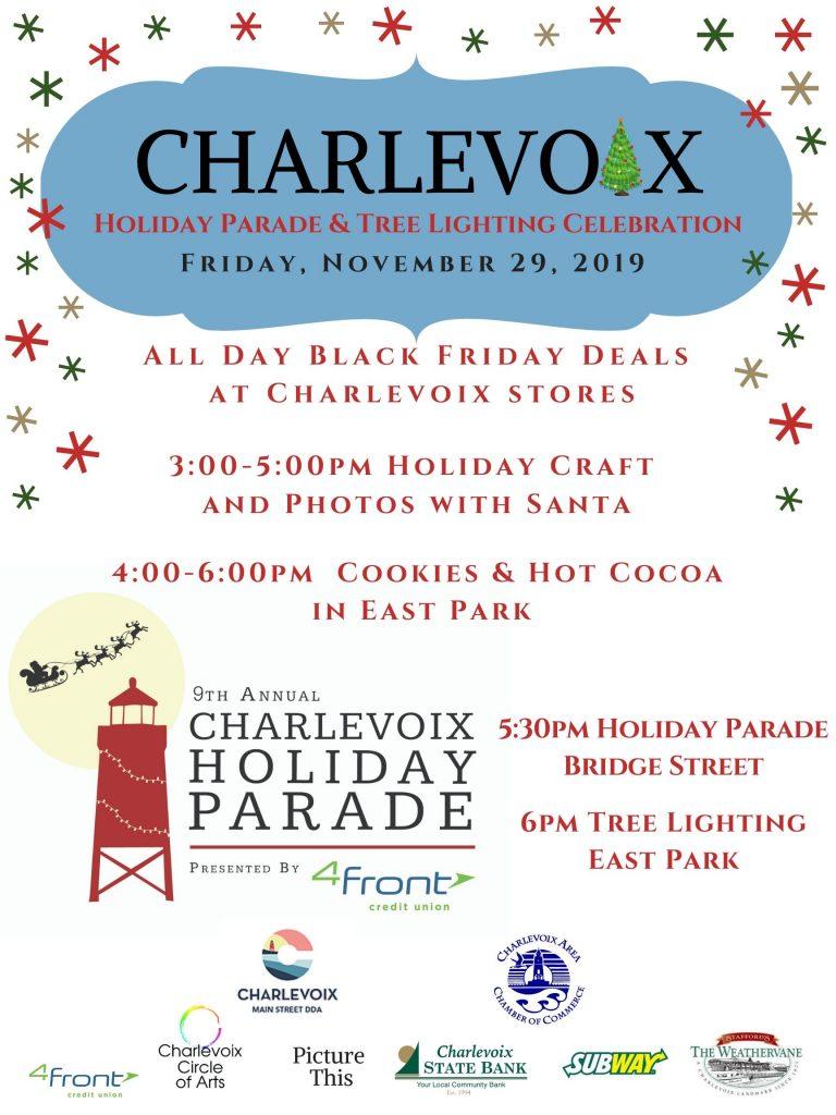 Charlevoix Holiday Parade Tree Lighting