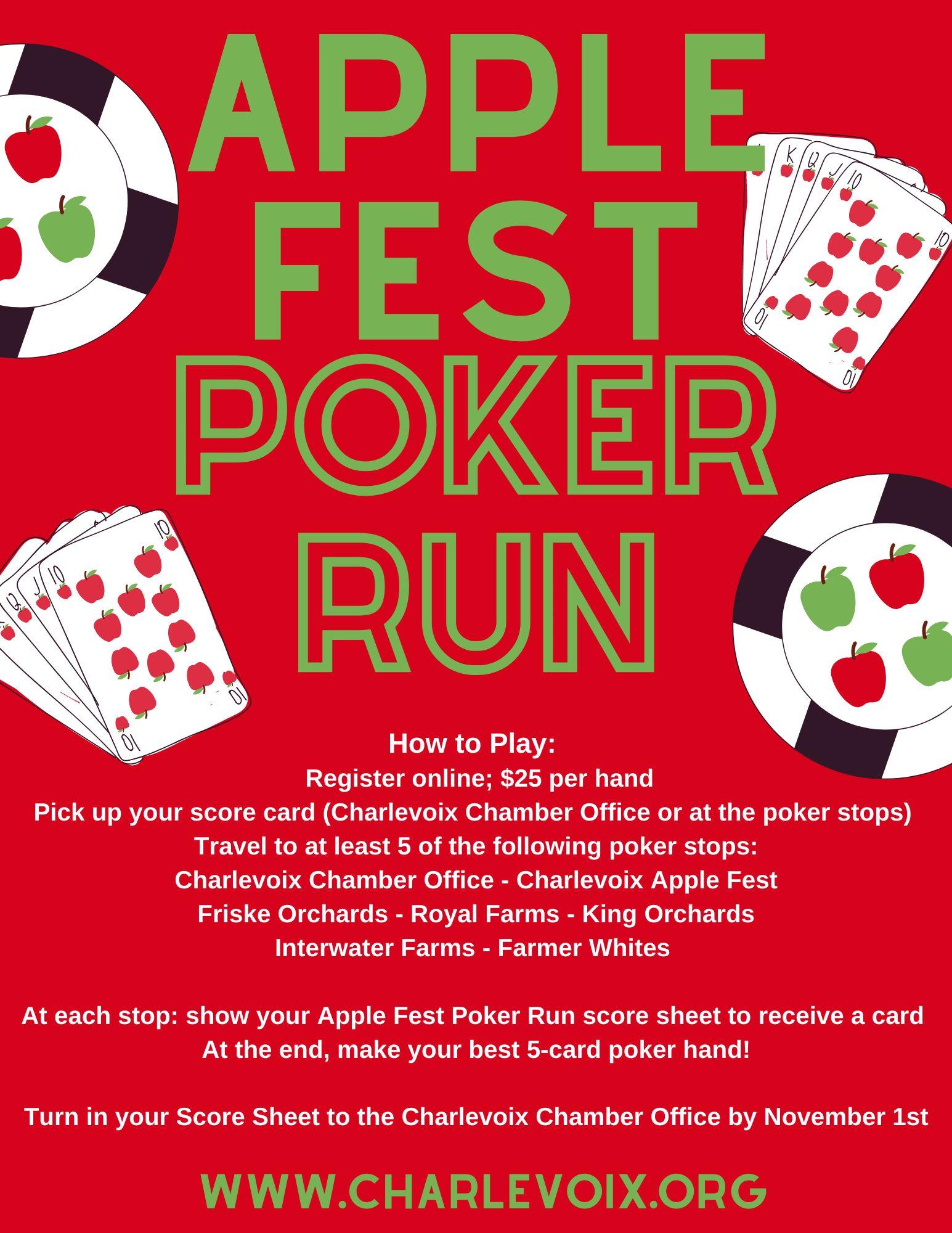 Apple Fest Poker Run