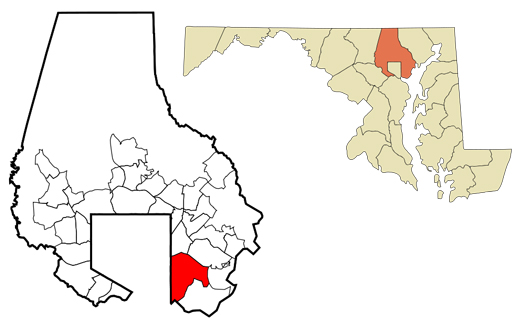 dundalk-map