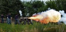 civil war days cannon fire