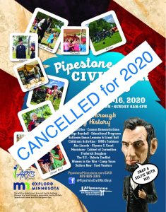 Cancelled: 2020 Civil War Days