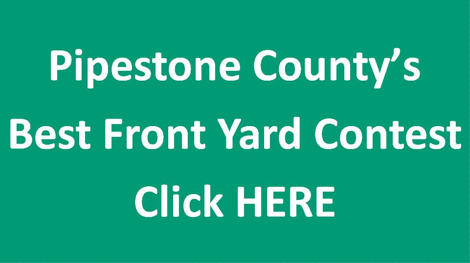 Pipestone County's Best Front Yard Contest