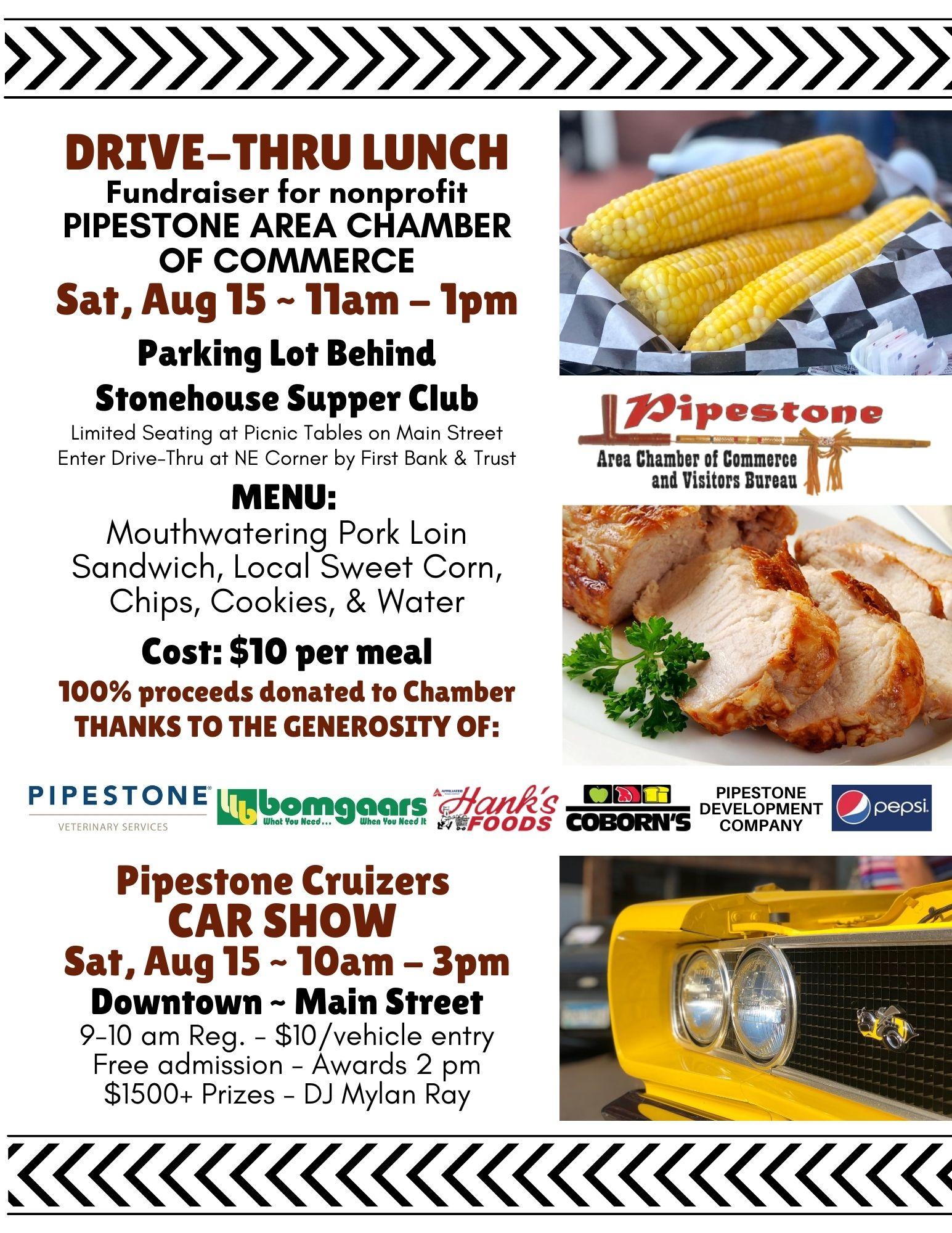 Drive-Thru Lunch & Car Show