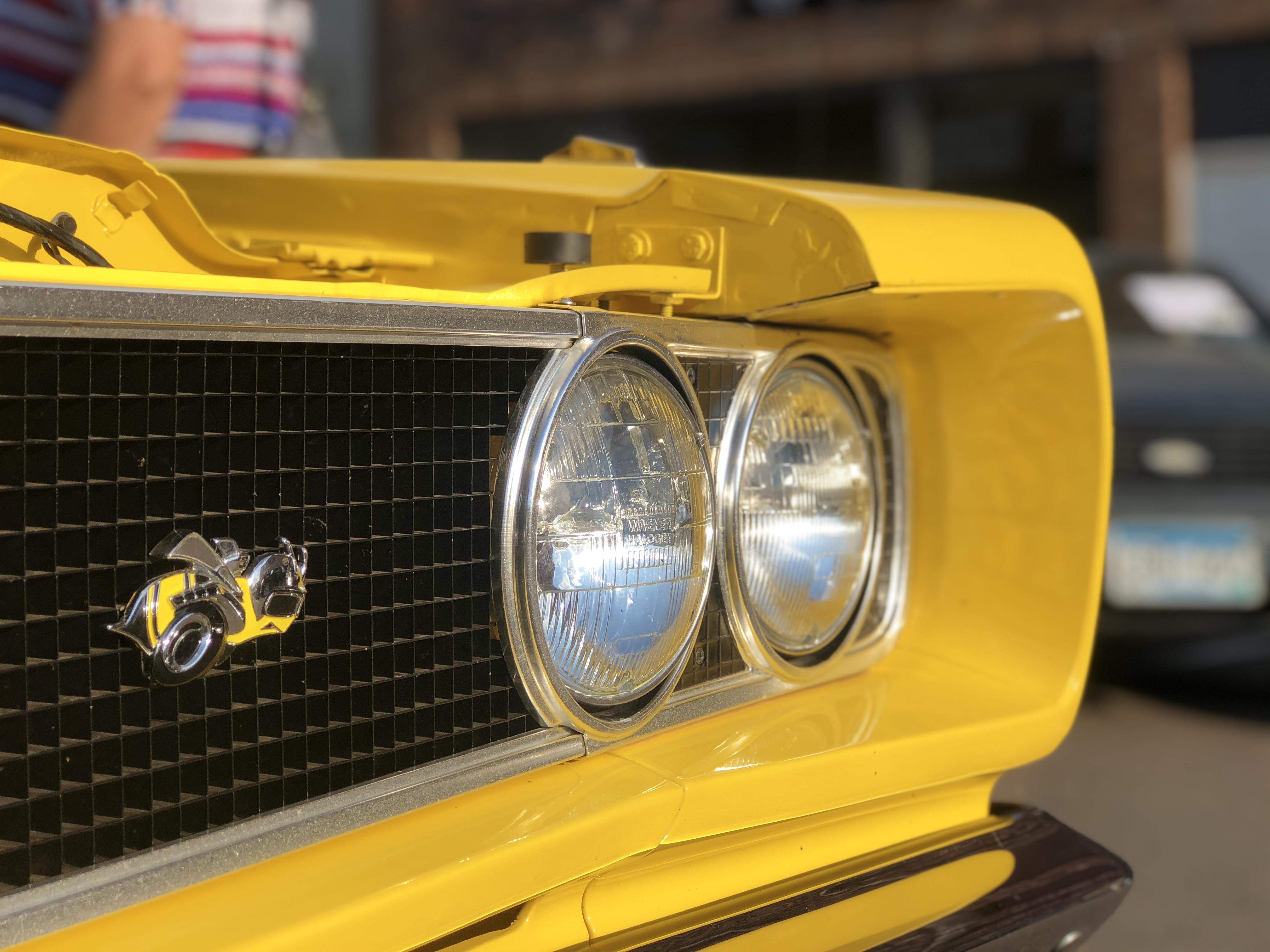 Super Bee Headlights (photo by Erica Volkir)