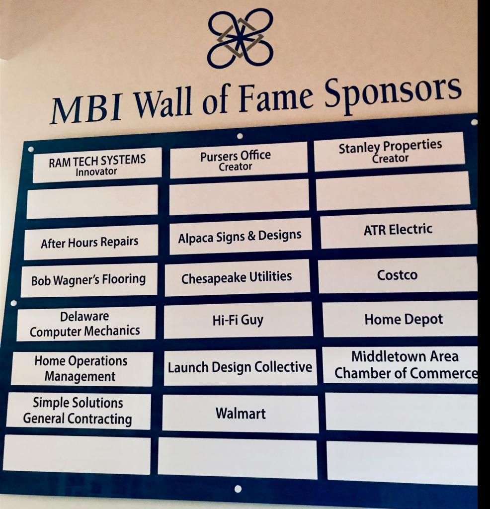MBI 2019 Sponsors