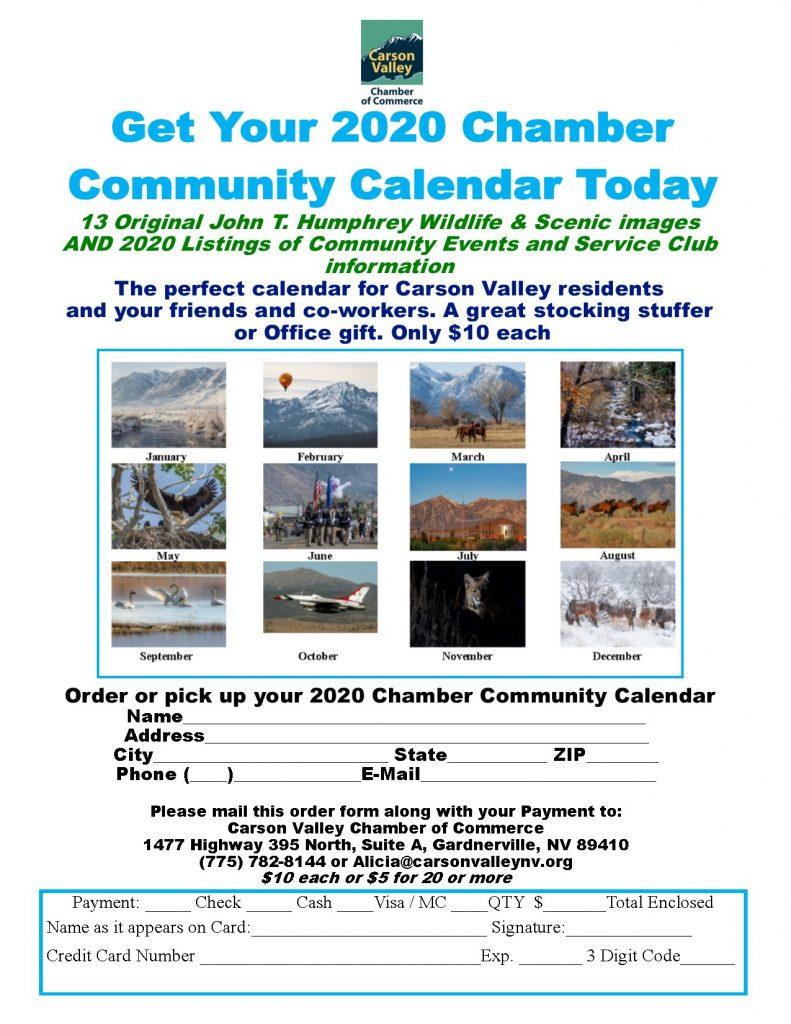 Calendar Flyer Avail Now