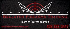 Bellator Fire Arms Banner
