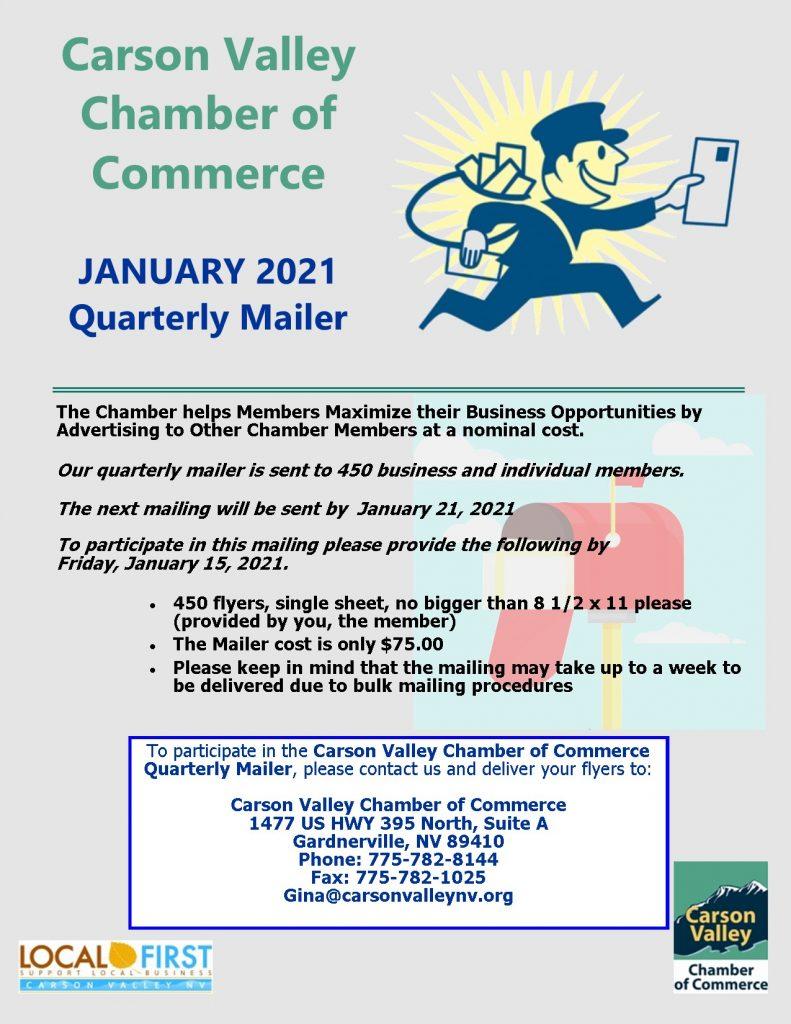 January Quarterly Mailer Flyer 2021