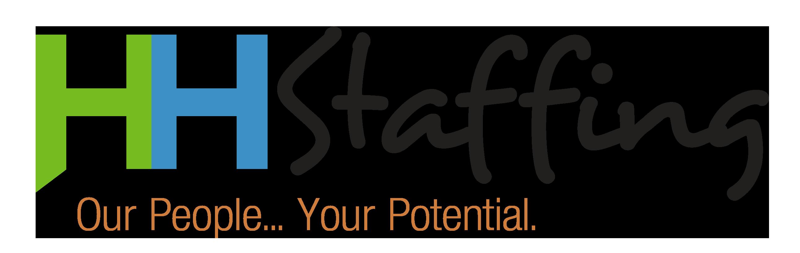 HH Staffing Horiz Logo