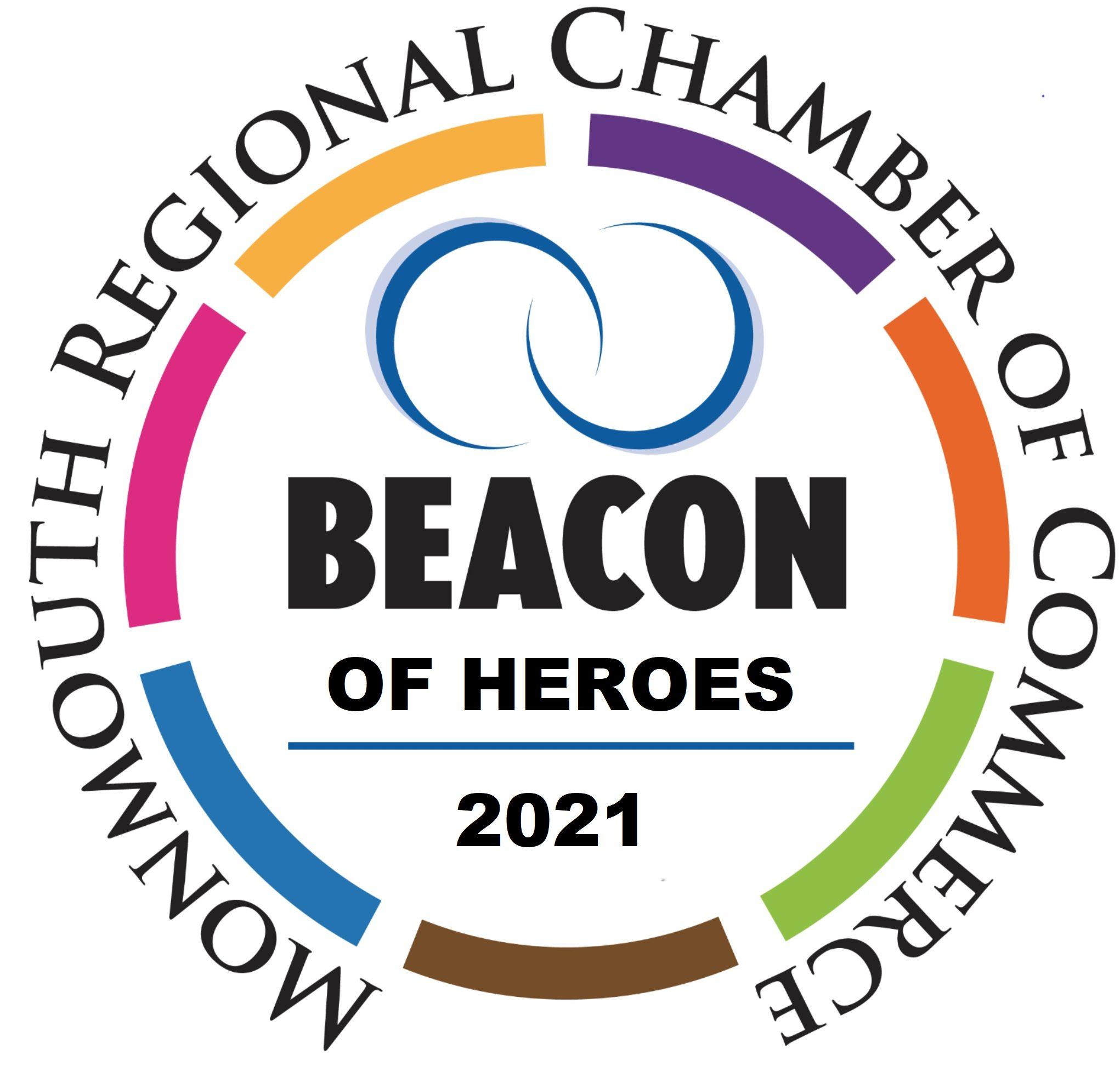 2021 Beacon of HEROES logo